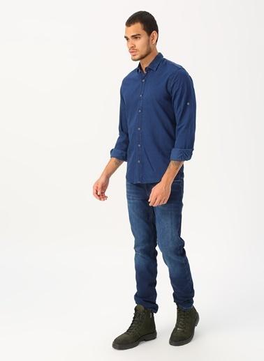 Twister Twister Jeans EG 1571-01 Denim Gömlek Renksiz